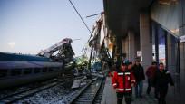 Ankara'da Yüksek Hızlı Tren ile kılavuz trene çarptı