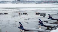 Moskova havaalanlarında 47 uçuş ertelendi
