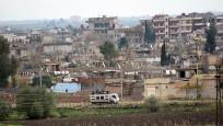 Türkiye sınırına yakın bölgelerde barikat oluşturuldu
