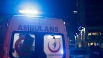 Merter'de tramvay kazası