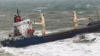 Şile'de kargo gemisi karaya oturdu