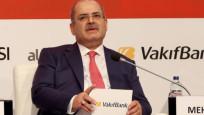 Vakıfbank GM Özcan: Ekonominin tüm yükünü 3 kamu bankası üstlendi