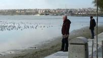 Marmara'da sular çekildi