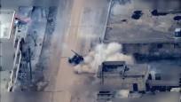 YPG/PKK saldırıları İHA'lar tarafından görüntülendi