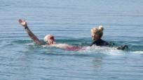 Şubat'ta Bodrum'da deniz keyfi