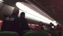 Yolcu gaz çıkardı, uçak acil iniş yaptı