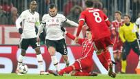 Beşiktaş Bayern Münih karşısında tutunamadı: 0-5