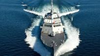 Türk savaş gemisi İtalyanları korkuttu