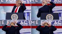 Trump kelliğiyle dalga geçti