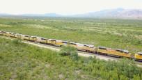 En az 300 vagonlu dev treninin sırrı!