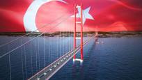 Çanakkale Köprüsü'nün kulesi kırmızı beyaz olacak!