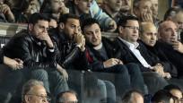 Cenk Tosun milli maç için İstanbul'a geldi