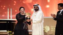 Dünyanın en iyi öğretmeni ödülü verildi