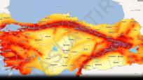 İşte Türkiye'nin yeni deprem haritası