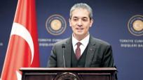Dışişleri Sözcüsü Aksoy'dan BAE'ye 'tehdit' yanıtı