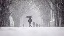 ABD'de kar alarmı! Okullar tatil edildi