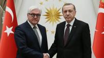 Erdoğan, Steinmeier ile görüştü