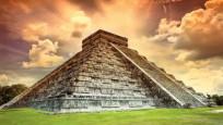 Güneş Piramidi'nde İlkbahar Ekinoks'u kutlandı