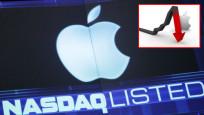 Apple'a büyük şok! İki günde 63.3 milyar dolar kayıp