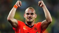 Wesley Sneijder milli takıma veda ediyor