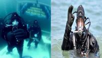Cem Karabay 'en uzun süre soğuk denizde yaşama' rekoru kırdı