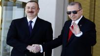 Erdoğan Aliyev'i Külliye'de ağırladı