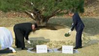 Kore'de tarihi zirve! Düşman kardeşler buluştu