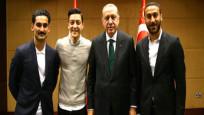 Erdoğan, Futbolcularla görüştü