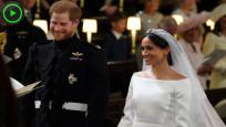 Dünyanın merakla izlediği düğünden özel anlar