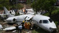 Honduras'ta özel jet düştü: 6 yaralı