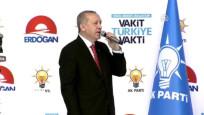Cumhurbaşkanı Erdoğan beyannameyi açıklıyor