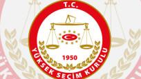 YSK'dan iki partiye kritik liste uyarısı