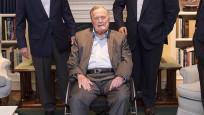 ABD'nin eski Başkanı Bush hastaneye kaldırıldı