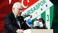 Bursaspor'da Ali Ay yeniden başkan