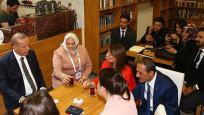 Erdoğan,milletvekili adayı Günay'ı ziyaret etti