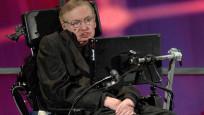 Hawking'in külleri Newton ve Darwin'in yanına gömüldü