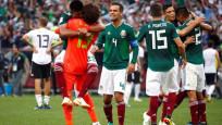 Meksika, son şampiyon Almanya'yı devirdi