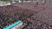 AK Parti'nin İstanbul mitingine 1 milyon 300 bin kişi katıldı