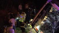 Aydın'da yolcu otobüsü devrildi: 20 yaralı