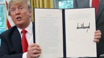 Trump sıfır tolerans politikasından geri adım için imzayı attı