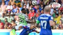 Nijerya, İzlanda'yı 2-0 mağlup etti