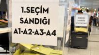Atatürk Havalimanı'nda seçim sonuçları belli oldu