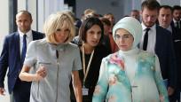 NATO liderlerinin eşleri müze gezdi