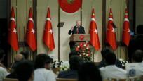 Erdoğan şehit ailelerine hitap etti