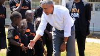 Obama yıllar sonra baba ocağı Kenya'da