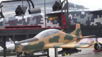 Milli uçak Hürjet Londra'da sergilendi