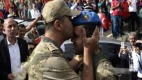 Eren Bülbül'ü şehit eden teröristi öldüren jandarmalara coşkulu karşılama