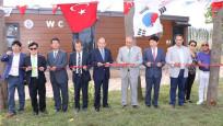 Yalova'da başkonsoloslu tuvalet açılışı