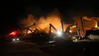 İplik fabrikasında yangın: 2 işçi yaralı