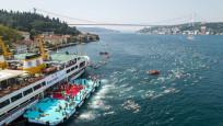 İstanbul'da kıtalararası yüzme yarışı tamamlandı